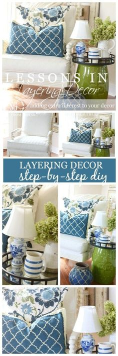 Really helpful tips about layering decor. It makes the space look more put together and intentional.