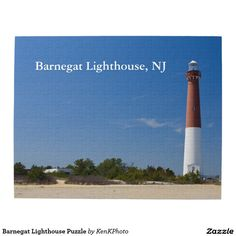 Sold! Barnegat Lighthouse Puzzle: Popular product at holiday season.