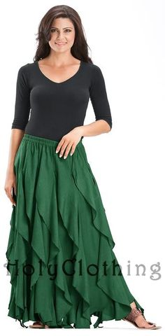Shop Talia Gypsy Ruffle Asymmetrical Layered Flared Peasant Skirt in Forest Green: http://holyclothing.com/index.php/skirts/talia-gypsy-ruffle-asymmetrical-layered-flared-peasant-skirt.html. Repins are always appreciated :) #HolyClothing #fashion #Gypsy #Ruffle #Asymmetrical #Layered #Flared #Peasant #Skirt
