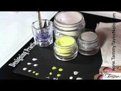 ▶ ♡ Tammy Taylor - How To Do 3D Nail Art Flower Petals - YouTube