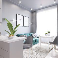 Small Condo Living, Small Living Room Layout, Home Living Room, Living Room Decor, Ceiling Design Living Room, Kitchen Room Design, Living Room Designs, Home Design Decor, Interior Design