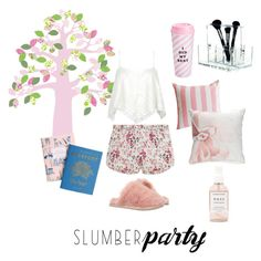 """""""Sweet dream"""" by regtika on Polyvore featuring STELLA McCARTNEY, Ted Baker, ban.do, Biltmore, Nomess, Inke, Herbivore, Dot & Bo and slumberparty"""