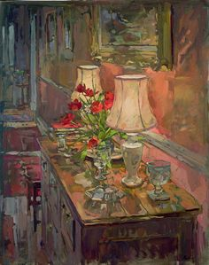 lamps-and-tulips-susan-ryder-b1944.jpg 473×600 pixels