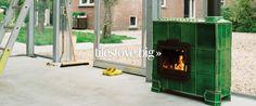 Tilestove Big   Weltevree.nl .  Dutch ceramic tile stoves from Arnhem, Gelderland, The Netherlands.