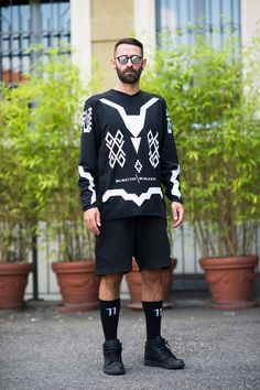 Men's Fashion Week Street Style