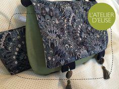 Sac besace en Liberty pour Elise Drawstring Backpack, Messenger Bag, Gym Bag, Satchel, Backpacks, Bags, Couture Sac, Sewing, Pouch Bag