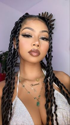 Baddie Hairstyles, Box Braids Hairstyles, Black Women Hairstyles, Girl Hairstyles, Wedding Hairstyles, Hairstyles 2018, Protective Hairstyles, Protective Styles, Hair Inspo
