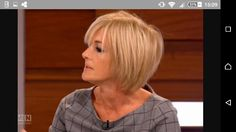recent pictures of jane moore from loose women Good Hair Day, Great Hair, Layered Bob Hairstyles, Cool Hairstyles, Jane Moore, Blonder Bob, Brunette Color, Hair Dos, New Hair