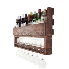 בר יין וויסקי מעוצב ממשטח דגם ״רפאל״ עץ ממוחזר | APT8 ecodesign | מרמלדה מרקט