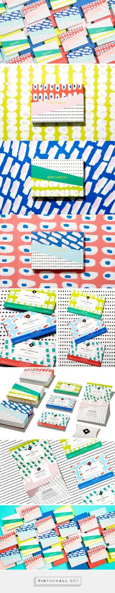 Birchbox 2015 Subscription Branding and Packaging by Mary Rabun | Fivestar Branding Agency – Design and Branding Agency & Curated Inspiration Gallery