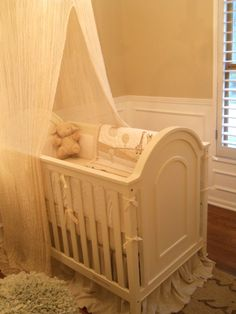 Whish I thought of this idea for a baby boy nursery!
