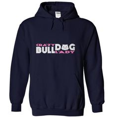 I Love Crazy BullDog Lady3 Shirts & Tees