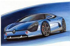 #Renault DeZir, a new Alpine?