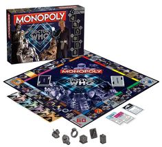Woot! #DoctorWho Monopoly Villains Edition!