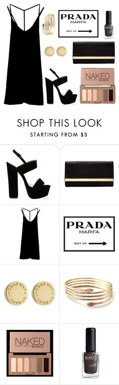 """Nameit #67"" by ericakslzr on Polyvore featuring Forever 21, RVCA, Prada, Marc by Marc Jacobs and Urban Decay"