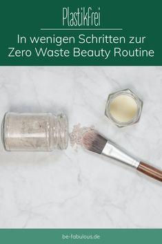 Heute geht es den Beauty Produkten in Plastikverpackungen an den Kragen und ihr erfahrt wie ihr beim Abschminken, der Haarpflege, der Gesichtsreinigung und beim Schminken auf Plastik verzichten könnt. #zerowaste #beautyroutine #plastikfrei #nachhaltigkeit Mascara, Eyeliner, Detox Maske, Zero, Hacks, Beauty Routines, Mascaras, Eye Liner, Cute Ideas