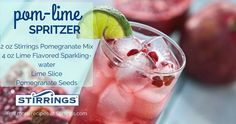 Here's an anti-oxidant filled beverage that will help you recover from the weekend! Super simple yet super tasty! Allure Flooring, Cocktail Recipes, Cocktails, Brand Campaign, Pomegranate Seeds, Beverages, Drinks, Super Simple, Heavenly