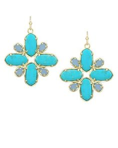 Astra Delicate Earrings in Fiji - Kendra Scott Island Escape preview, in stores and online April 24, 2013 at 5pm CST.