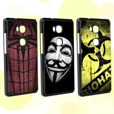 Find More Phone Bags & Cases Information about Exquisite Cool Black Spider Man / V face cartoon anime Series Hard case For Huawei Honor 5X honor5X cover,High Quality anime mix,China anime fancy Suppliers, Cheap case top from ShenZhen MRB store on Aliexpress.com