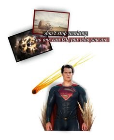 """we'll change the world"" by forebodinq ❤ liked on Polyvore featuring art, superman and BOTMSB1"