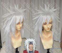 34.99$  Watch now - https://alitems.com/g/1e8d114494b01f4c715516525dc3e8/?i=5&ulp=https%3A%2F%2Fwww.aliexpress.com%2Fitem%2FNaruto-Jiraiya-Long-Silver-Gray-need-styled-Full-Lace-Anime-Cosplay-Wig-Costume-Heat-Resistant-Cap%2F32724483835.html - Naruto Jiraiya Long Silver Gray (need styled) Full Lace Anime Cosplay Wig Costume Heat Resistant + Cap 34.99$