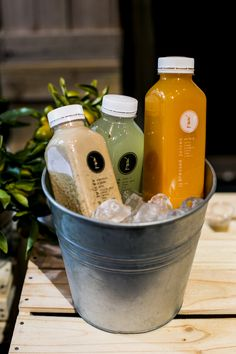 Pressed Juices beautifully displayed at our Sydney Event, at The Ivy Ballroom  #pressedjuices #Sydney