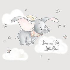 Disney Mural, Disney Artwork, Dumbo Nursery, Baby Dumbo, Disney Nursery, Wallpaper Iphone Disney, Cute Disney Wallpaper, Cute Cartoon Wallpapers, Walpapers Cute