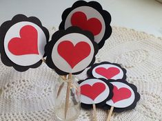Queen Of Hearts  Party Collection  Heart by PickledCherryPaper, $7.00