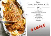 Baked Honey Garlic Salmon in Foil Salmon In Foil Recipes, Fish Recipes, Seafood Recipes, Soup Recipes, Chicken Recipes, Cooking Recipes, Healthy Recipes, Healthy Foods, Ketogenic Recipes