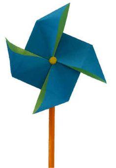 Origami Windmill Craft Children Elementary School Knutselen Kinderen Basisschool Windmolen Van Plastic Beker En Papier Windmolentje