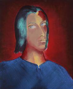 Autorretrato, Xaime Quesada Blanco, 1994 1975, Painting, Pintura, Art, White People, Painting Art, Paintings, Painted Canvas, Drawings