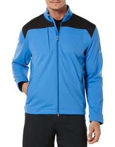 Callaway Golf Performance Soft Shell Jacket Men's Palace Blue Large