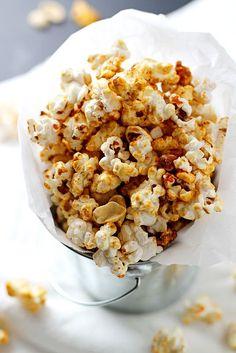 Sriracha Peanut Kettle Corn #popcorn #sriracha #snack