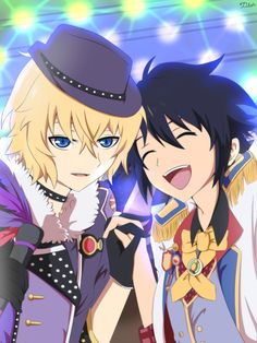 """zilch016: """" """" THE IDOLS """" My MikaYuu tribute for the IDOL event from Bloody Blades """""""