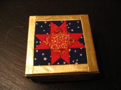 doos met patchworkdeksel