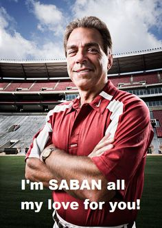 """Nick Saban Alabama Crimson Tide """"Forbes"""" Photo (Choose Size) by Game Day Treasures Crimson Tide Football, Alabama Football, Alabama Crimson Tide, Alabama Coach, Football Baby, Pittsburgh Steelers, College Football Teams, Football Memes, Football Season"""