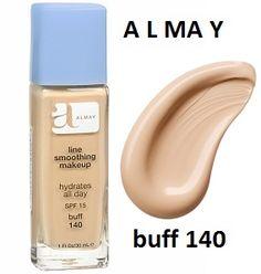 Almay Line Smoothing Makeup Liquid Base Foundation