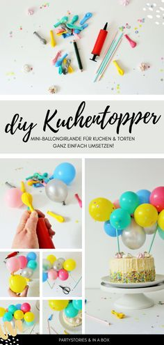 DIY Kuchentopper für deine Feier - kostenloser Download #freebie #freedownload #caketopper Party Box, Diy Party, Bed Cover Design, Party Decoration, Kitchen Models, Make An Effort, Morning Food, Food Items, Cake Toppers