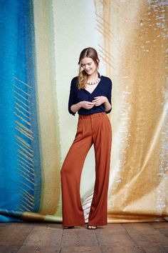 Verso Wide-Leg Trousers #anthrofave #anthropologie.com
