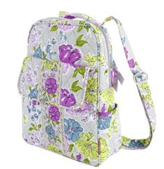 bradley backpack, backpacks, style, book bag, watercolor backpack, baby bags, vera bradley, babi backpack, thing