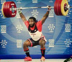 Kendrick Farris' American Record-breaking 211kg clean & jerk at the 2013 Universiade in Kazan, Russia to bring home the bronze!