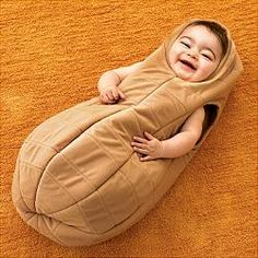 Baby Peanut Costume!  I wish they had this one for Luca last year!!  Our little peanut!!!