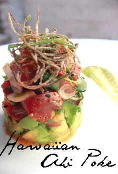 Ahi Tuna Poke - Top 7 recipes of 2012 Sushi Recipes, Seafood Recipes, Asian Recipes, Cooking Recipes, Healthy Recipes, Ethnic Recipes, Fresh Tuna Recipes, Poke Recipe, Ahi Tuna Tower Recipe