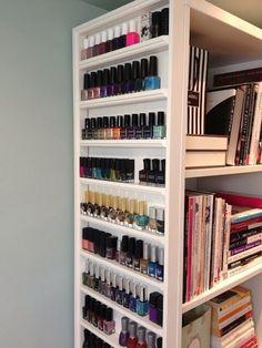 Oooh, on the side of a bookshelf, I like it!