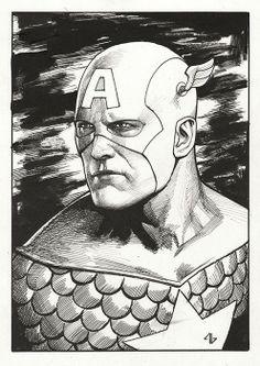 Captain America by Adi Granov *