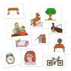 Trabajar la comprensión, rapidez mental y atención del niño/a con estas fichas de absurdos: http://wp.me/p2KJ5s-2Vj