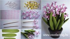 Hyacinthus orientalis (Kerti jácint) - My clay flower https://www.facebook.com/Csodavirag