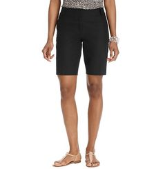 """Julie Stretch Cotton Walking Shorts with 10 """"stride Modest Shorts, Long Shorts, Summer Shorts, Walking, Loft, Short Outfits, Stretches, Bermuda Shorts, Clothes For Women"""