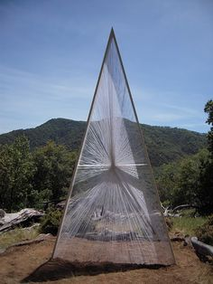 // string pyramid. Wow, I love this and this might take my current project in a new direction