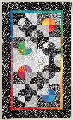 contemporary drunkard's path quilts   Drunkard's Path Variations: Curves Made Modern